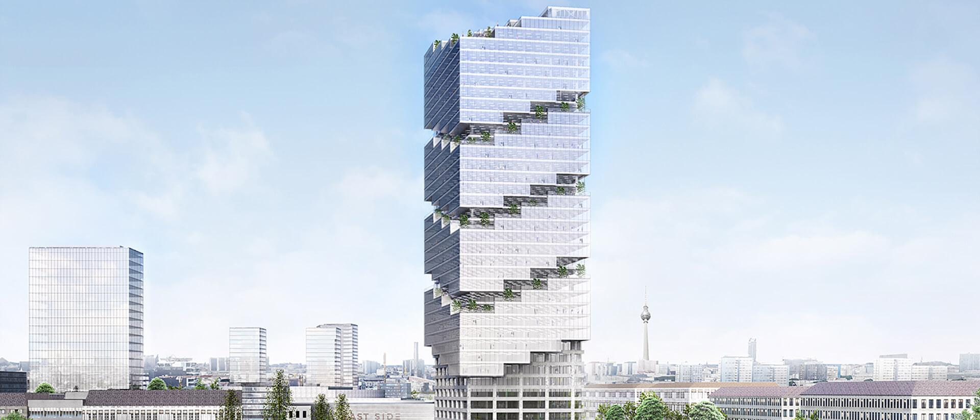 East Side Tower Project Cover