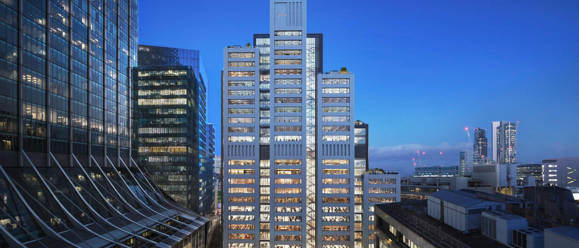 20 Ropemaker Street Project Architecture